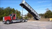 Tips for Safely Dumping the Load From Your Dump Trailer