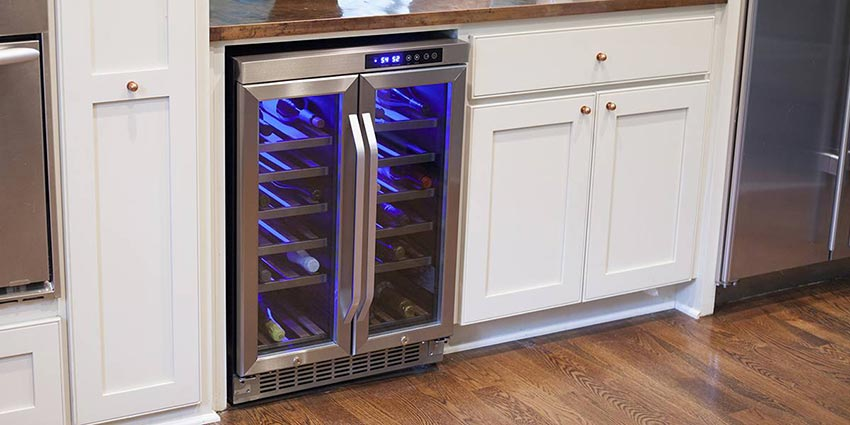 built-in-wine-cooler