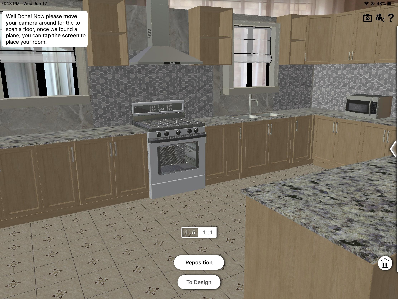 ARKitchen – The Best Free Smartphone App to Design a Kitchen in