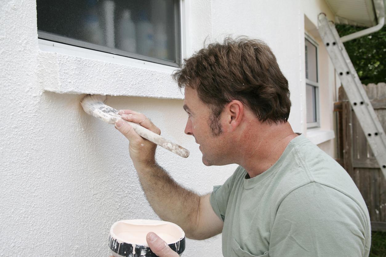 stucco painting